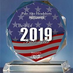 palo alto headshots award
