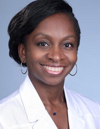 female doctor profile headshot for linkedin