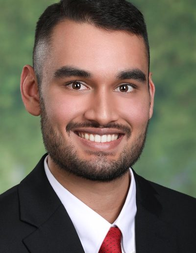 young male headshot with beard