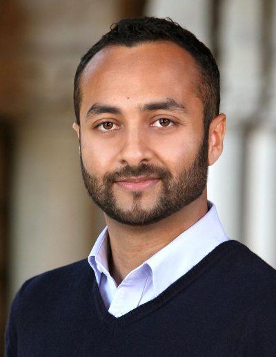 male student headshot at stanford university